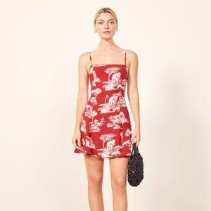 NWT Reformation Kendall Nairobi Mini Dress Size 0